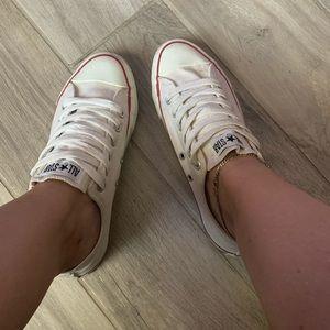 Vintage white Converse Chuck All stars